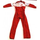 RED VINTAGE RACING SUIT (2ND HAND) - SIZE S